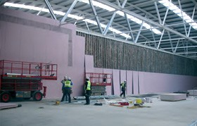 partitions / drylining company northern ireland